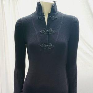 Lauren Ralph Lauren Military Style Sweater Dress